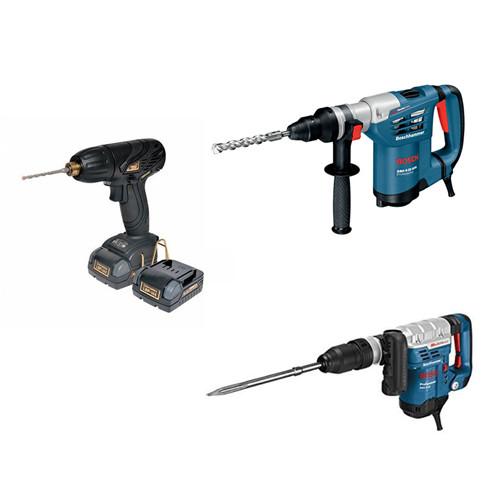 穴あけ工具・ネジ締め工具・はつり工具
