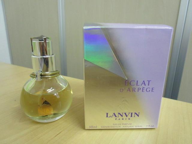 LANVIN/ランバン E'CLATD'ARPEGE/エクラドゥアルページュ EDP 30mlを買取させていただきました。