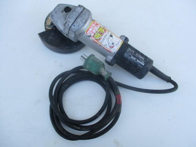 HITACHI/日立工機 125㎜電気ディスクグラインダ G13SH3を買取させていただきました。