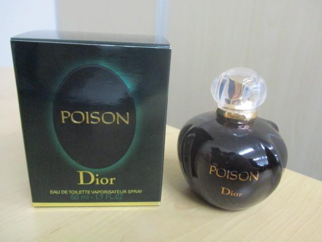 Dior/ディオール POISON/プワゾン EDT 50mlを買取させていただきました。