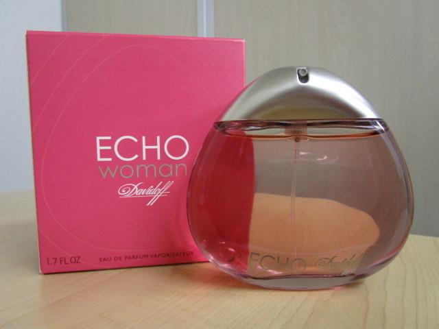 davidoff/ダビドフ ECHO woman/エコー ウーマン EDP 50mlを買取させていただきました。