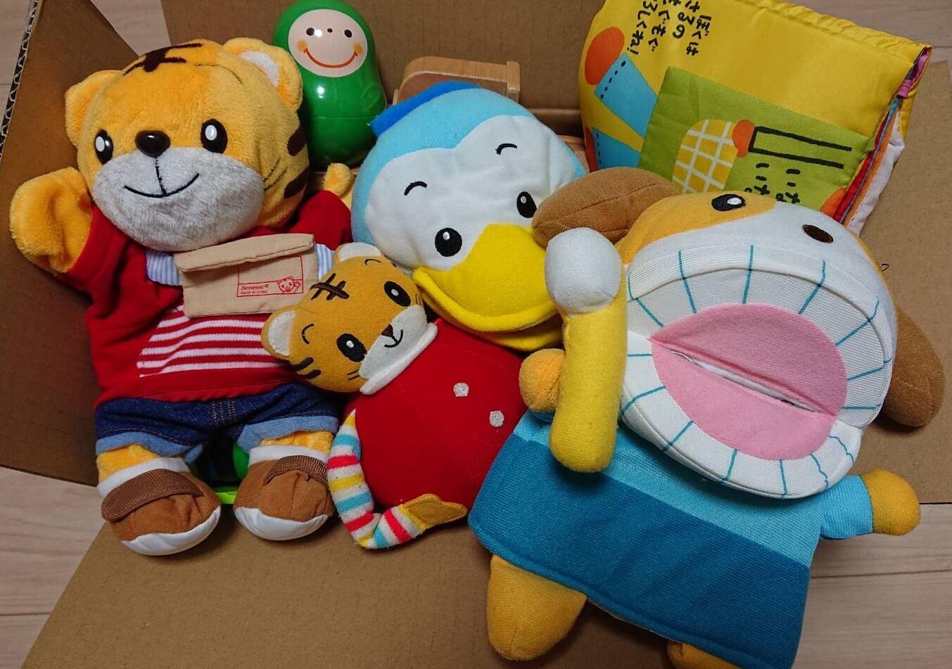 こどもちゃれんじ おもちゃを買取させていただきました。