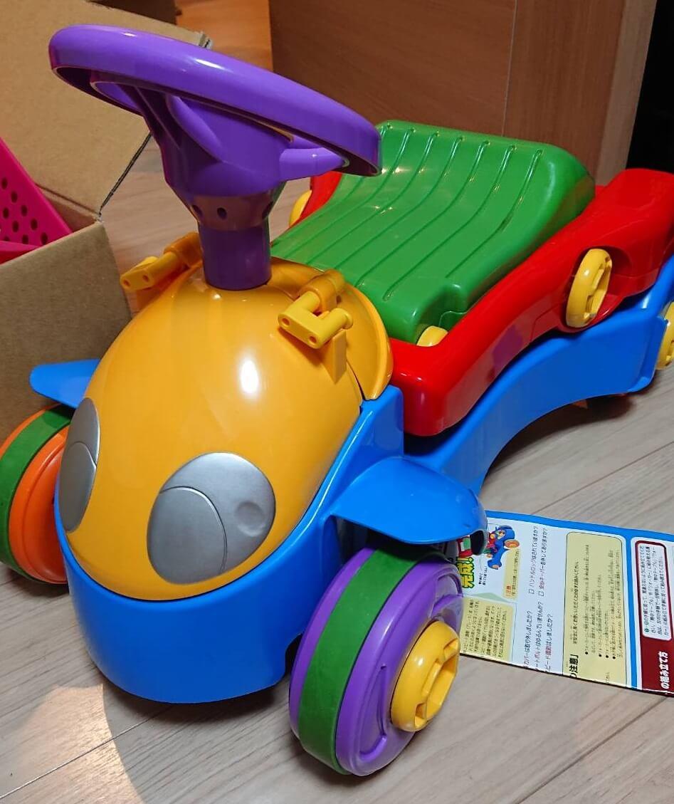 ブーブー 手押し車 変形おもちゃ