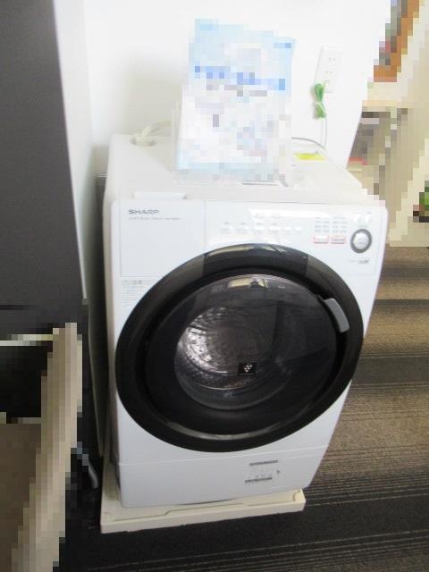 ドラム式洗濯乾燥機(SHARP EC-S60)を買取させていただきました。