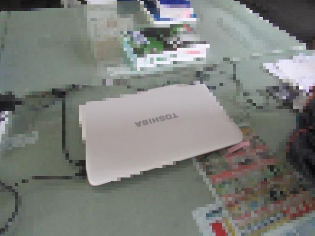 ノートパソコン(東芝)を買取させていただきました。