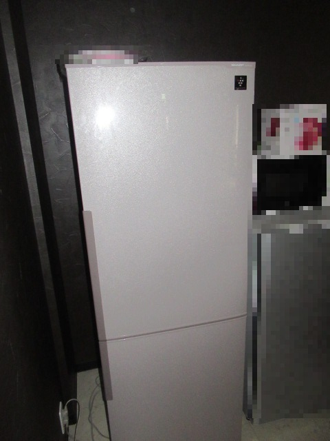 プラズマクラスター搭載冷蔵庫(SHARP SJ-PD27X)を買取させていただきました。