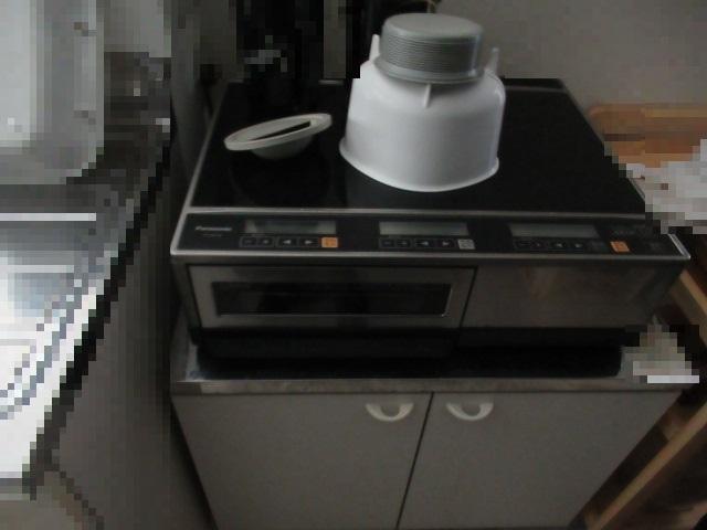 IHクッキングヒーター(Panasonic KZ-KB21B)を買取させていただきました。