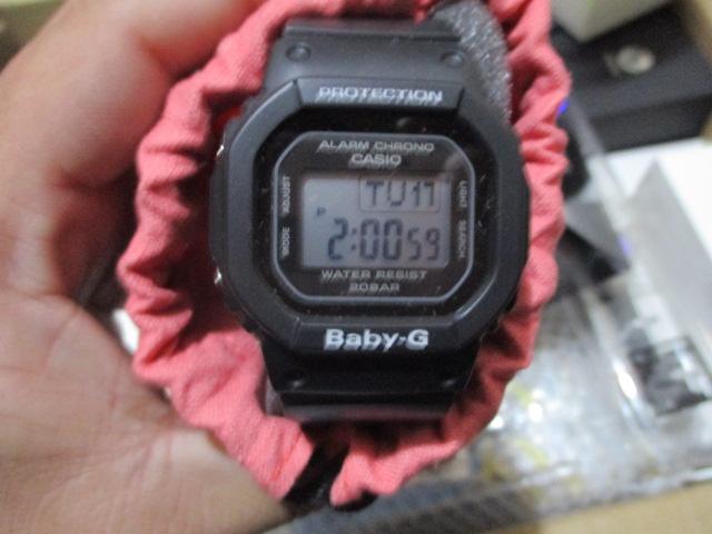 腕時計(カシオ/ベビーG)を買取させていただきました。