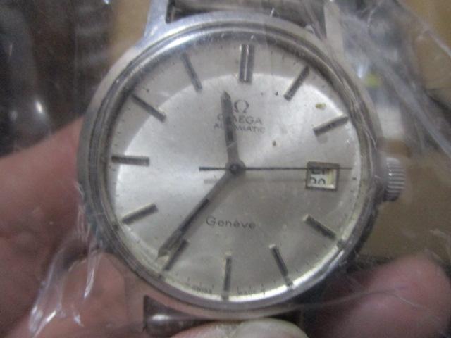 アンティーク時計(オメガ)を買取させていただきました。