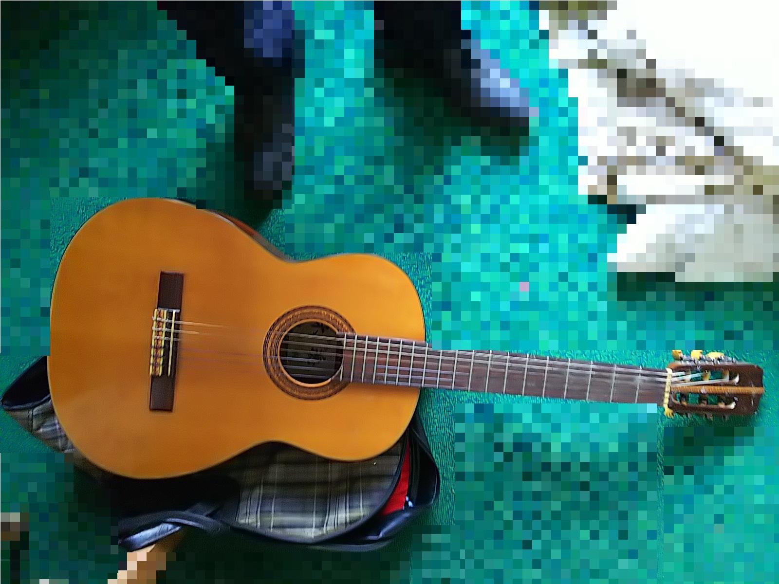 クラシックギターを買取させていただきました。